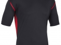 0660 Pro Training Tee-BLACK RED