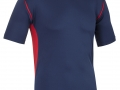 0660 Pro Training Tee-NAVY RED