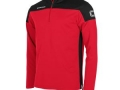 Pride 1-4 zip top_red-blk