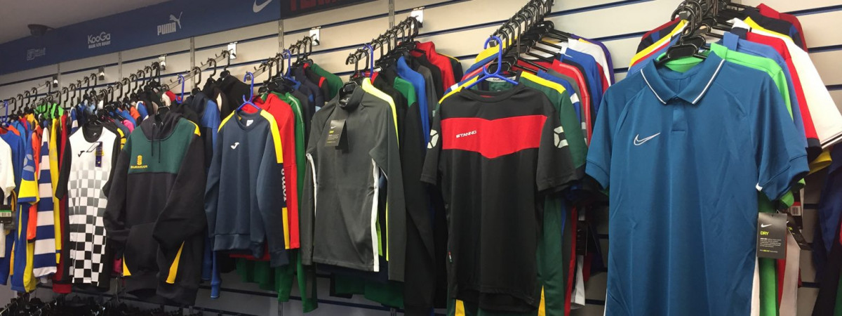 Teamwear Showroom